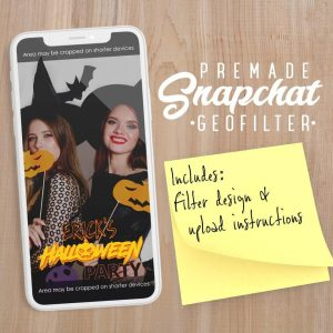 PREMADE Halloween Snapchat Filter